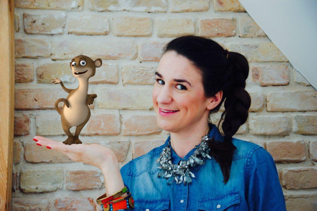 Nadine Sosniok und Bloggi, die kreativen Macher der Seite Hallo Bloggi dein kunterbunter und kreativer Kinderblog