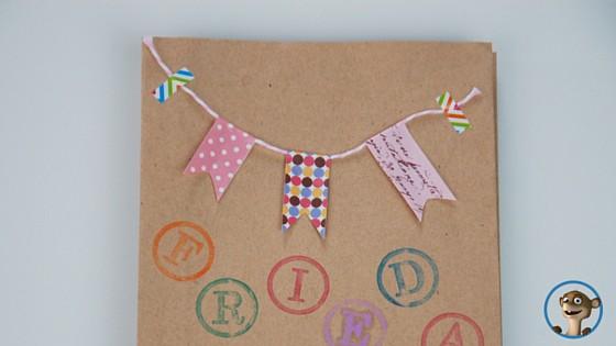 Geschenktüte für den Kindergeburtstag. www.hallobloggi.de