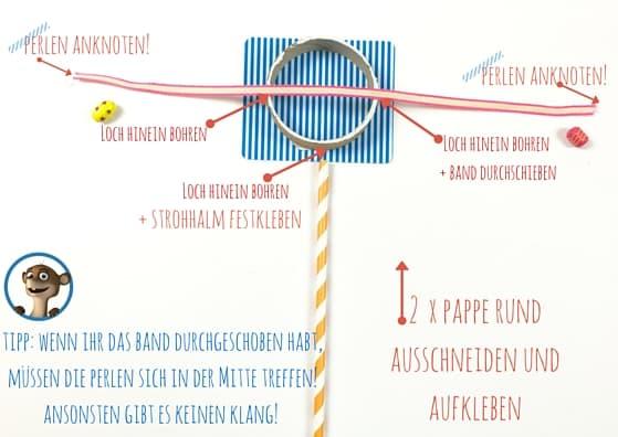 Wir bauen uns ein Musikinstrument diy selber! Diesmal eine Trommel. Mehr auf www.hallobloggi.de
