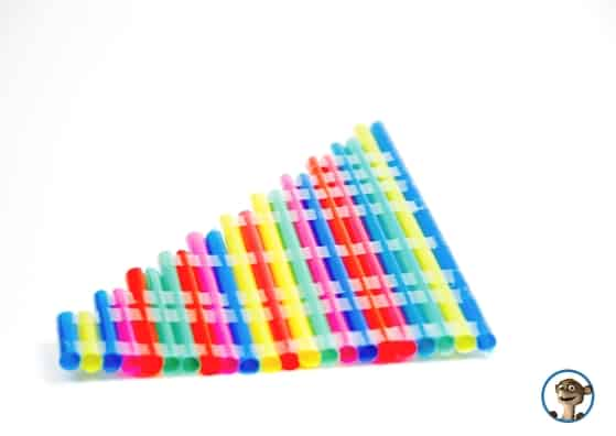 Eine Panfloete selber machen. Und noch mehr diy Musikinstrumente findet Ihr hier! www.hallobloggi.de