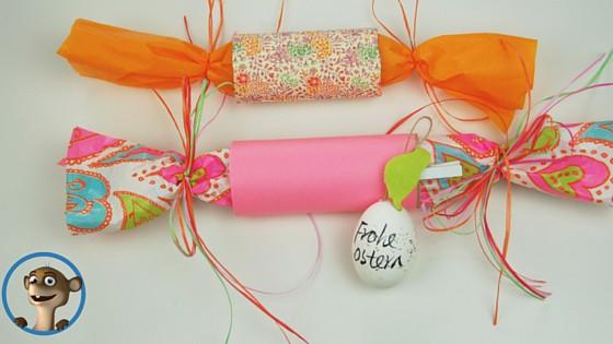 Bastelt Euch Eure Osterverpackung aus einer Toilettenpapierrolle. www.hallobloggi.de