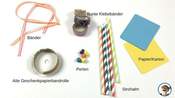Musikinstrumente selber machen! Was Ihr alles für eine Trommel benötigt! www.hallobloggi.de