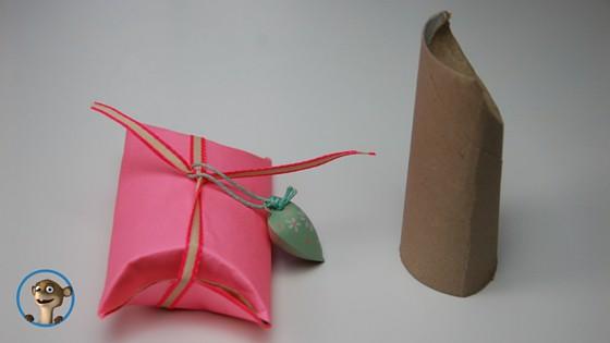Verpackungen Selbermachen! Mit Klopapierrollen. www.hallobloggi.de