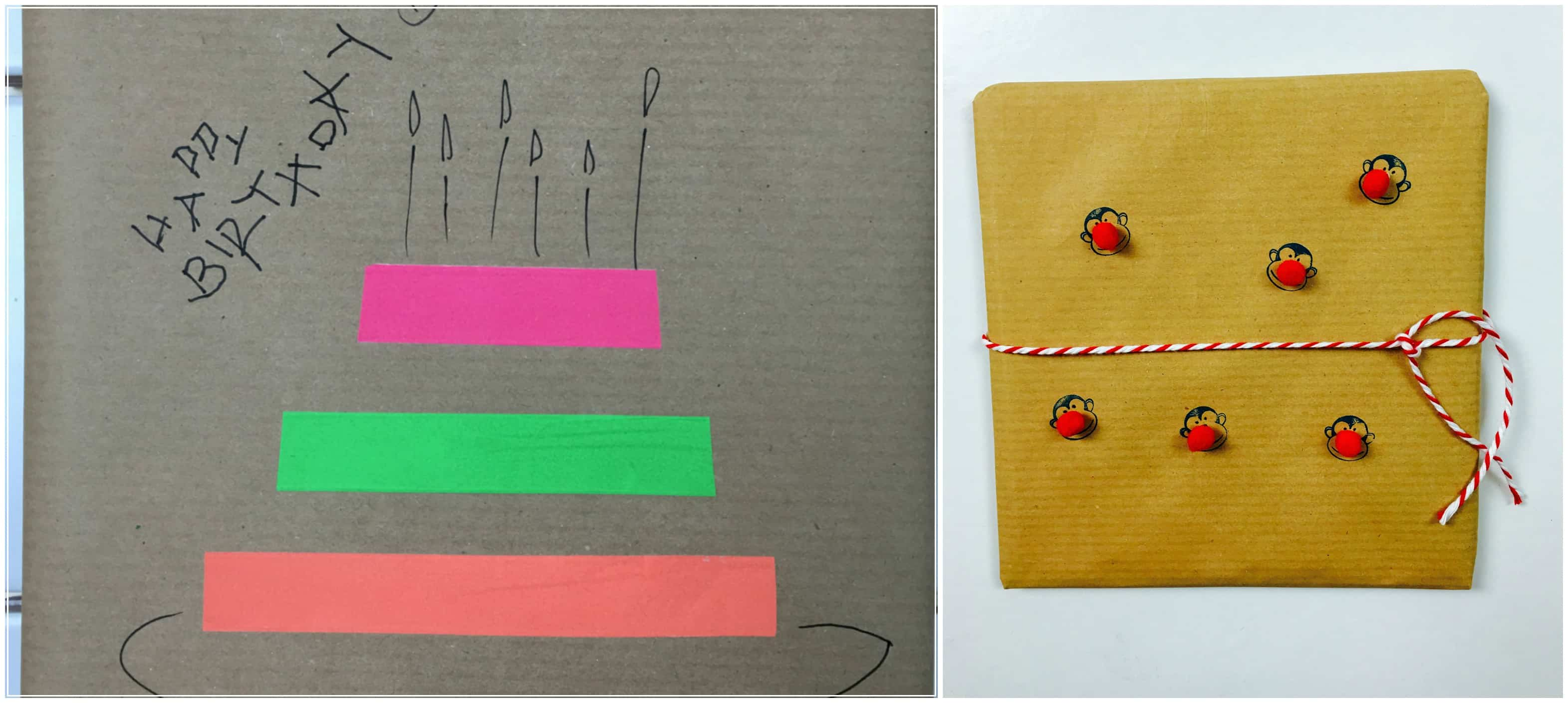 Wrapping Paper Kinder Basteln Einfach Hallobloggi Hallo Bloggi