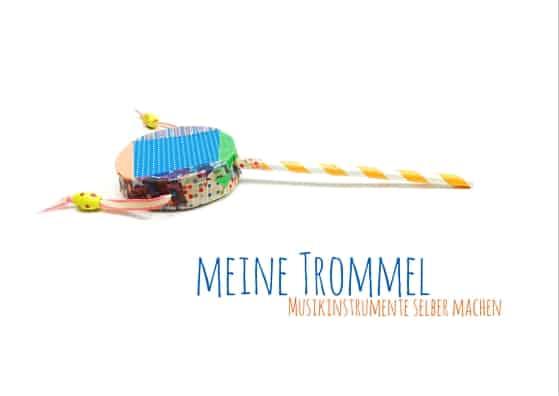 Musikinstrumente diy- auf dem Kinderblog www.hallobloggi.de