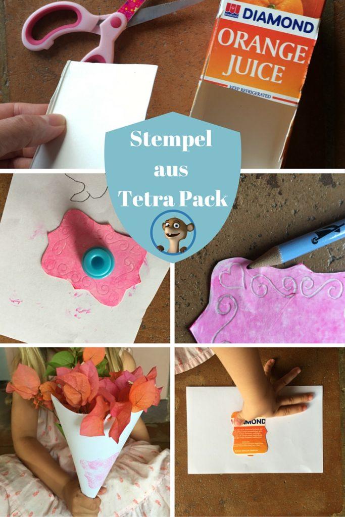 Stempel aus Tetra Pack