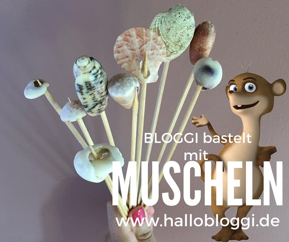 Kommt auf meinen Kinderblog und wir basteln mit Muscheln www.hallobloggi.de