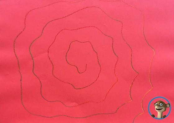 Papierblume zum Muttertag! www..hallobloggi.de