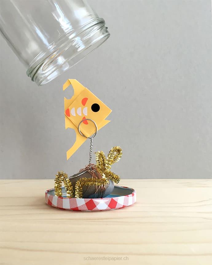 DIY Aquarium mit Kindern basteln. Mehr auf www.hallobloggi.de
