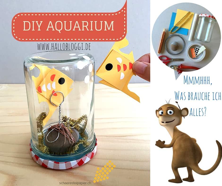 www.hallobloggi.de Bastelt Euch ein DIY Aquarium