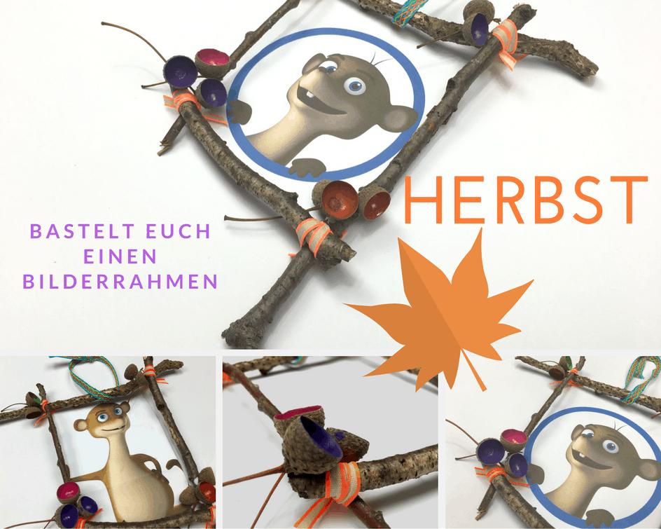 DIY Herbst Bilderrahmen www.hallobloggii.de
