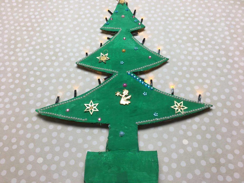 Ich bastel einen tannenbaum aus pappe - Tannenbaum englisch ...