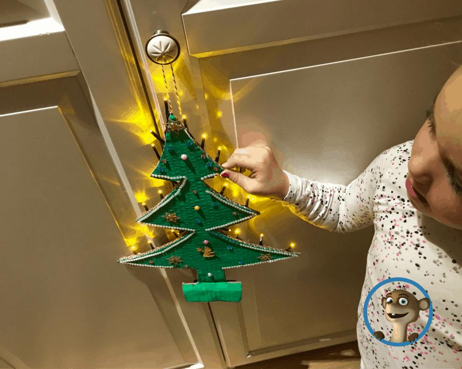 Mit Kindern an Weihnachten basteln