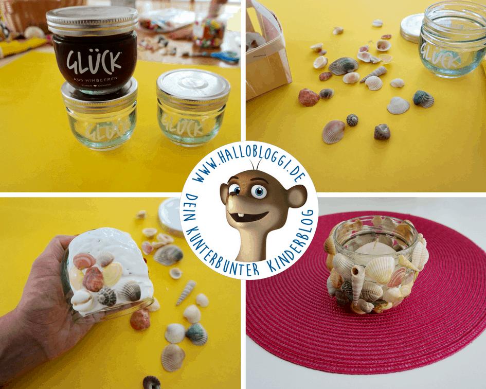 Mit leeren Marmeladengläsern basteln Kinderblog Hallo Bloggi