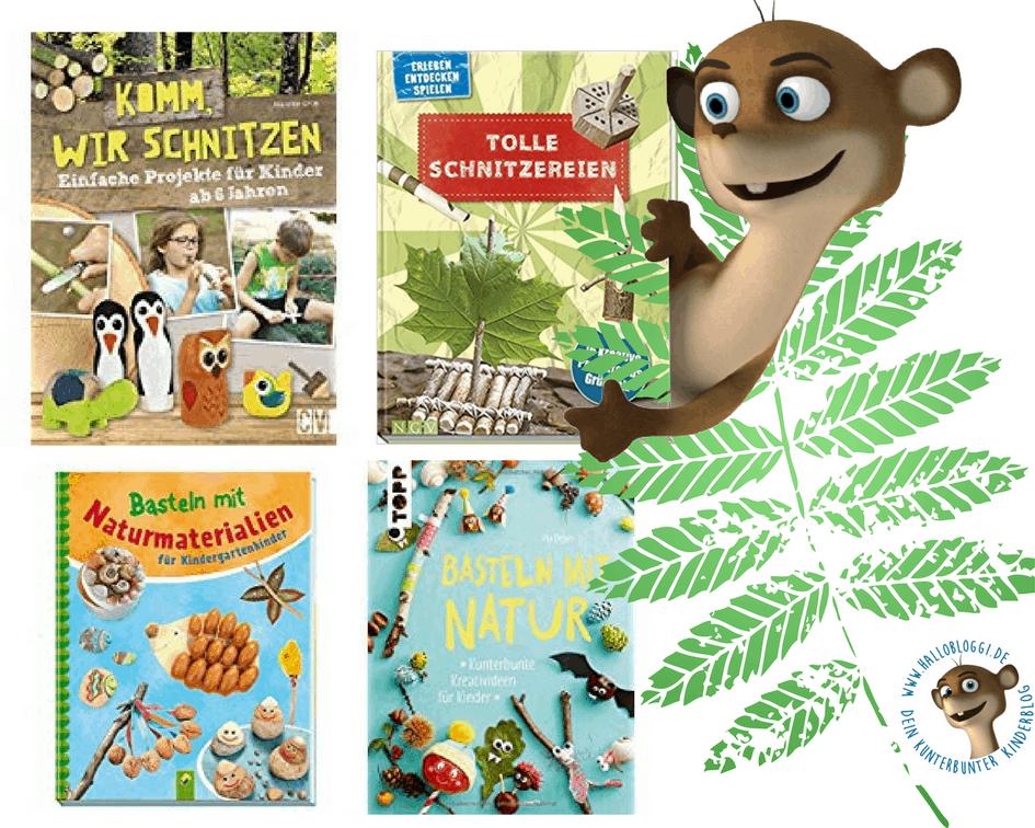 Mit Kindern Bastel Kinderbucher Zum Thema Holz Naturmaterialien
