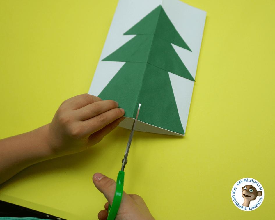 Weihnachtskarten Mit Kindern Basteln Fur Jedes Alter