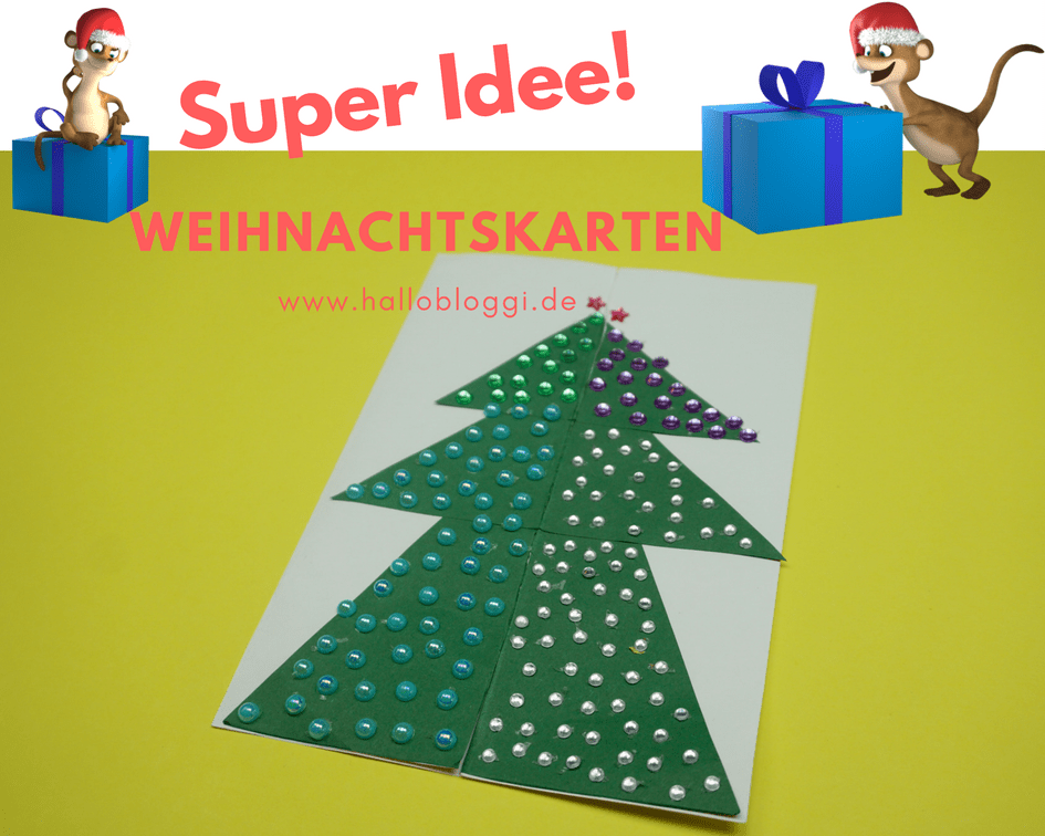 Weihnachtskarten von Hallo Bloggi
