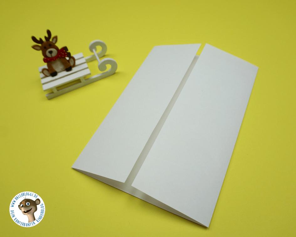 Einfache Weihnachtskarten zum nachbasteln Hallo Bloggi