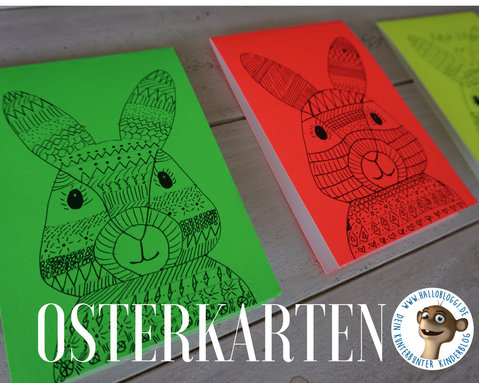 Diy Osterkarten Mit Kindern Basteln Neue Idee Im Mandala Stil