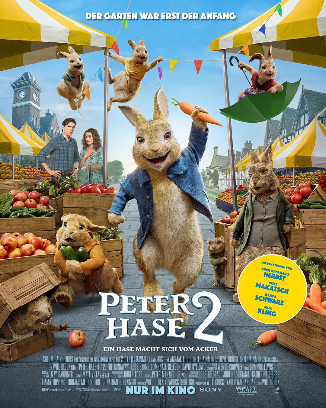 Kinofilm Peter Hase 2